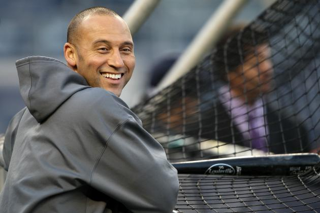 5 Milestones a Healthy Derek Jeter Can Reach in 2013