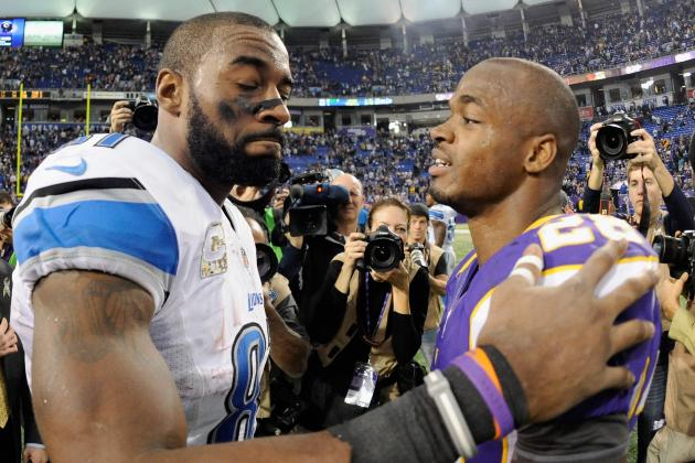 NFL Record Chase: Who Is More Impressive, Adrian Peterson or Calvin Johnson?