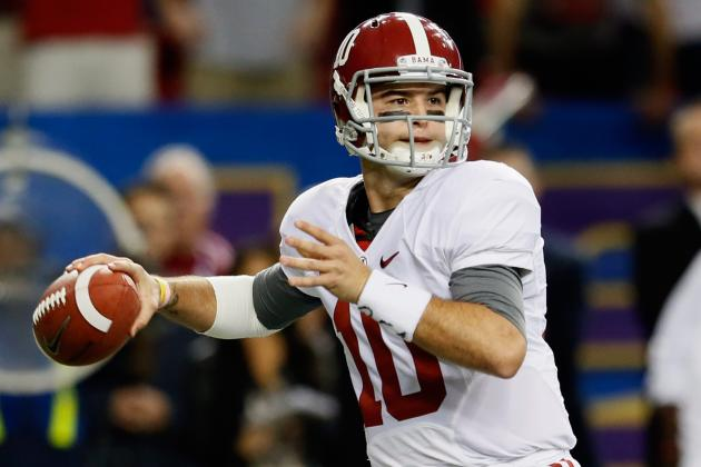 BCS Championship 2013: Why Nick Saban Should Put the Game in AJ McCarron's Hands