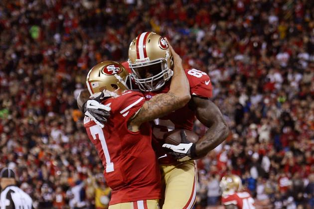 Vernon Davis: Three Ways He Can Improve His Chemistry with Colin Kaepernick
