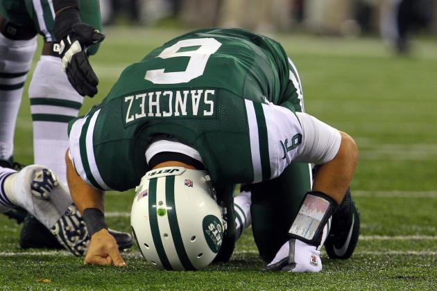 Ranking the Most Likely Job Titles for Mark Sanchez in 2013