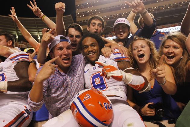 Florida Football: Most Improved Gators of 2012 Season