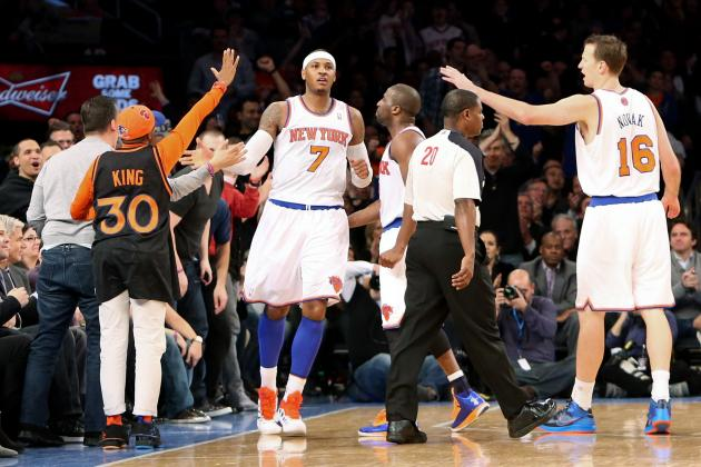 Looking at the New York Knicks' Early Contenders for Major NBA Awards