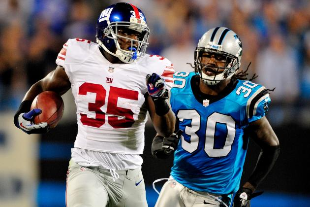 The 5 Best Highlights of New York Giants 2012 Season so Far