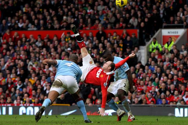 Manchester United's 20 Most Memorable Goals of the Past 20 Years