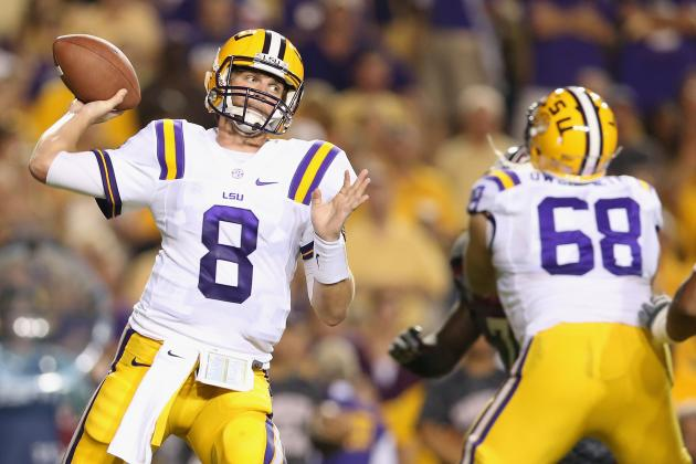 LSU Football: Projecting Tigers' 2013 Offensive Depth Chart
