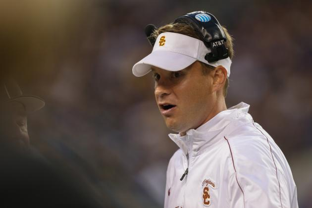 USC Football: Projecting Lane Kiffin's 2013 Offensive Depth Chart