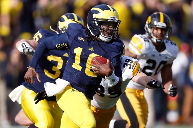 Outback Bowl 2013: How Michigan Can Use Both Denard Robinson and Devin Gardner