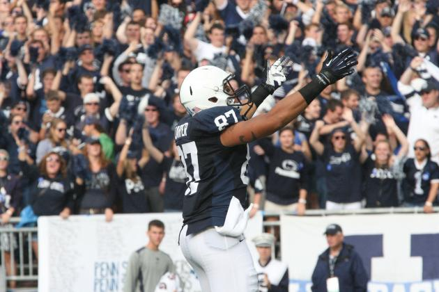 Penn State Football: Projecting the Lions' 2013 Offensive Depth Chart