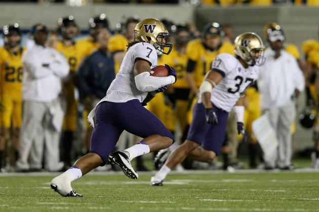 2012 Las Vegas Bowl: Postgame Grades from Washington's Loss vs. Boise State