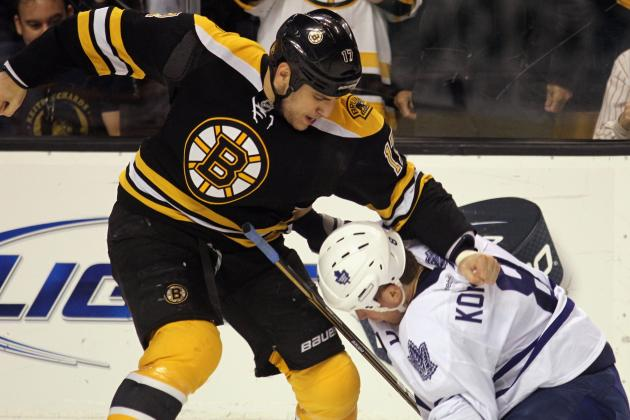 Boston Bruins: 5 Best Fights of 2012 (Video)