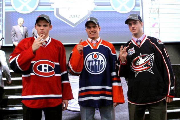 How Are the Top 10 Picks from the 2012 NHL Draft Faring During the Lockout?