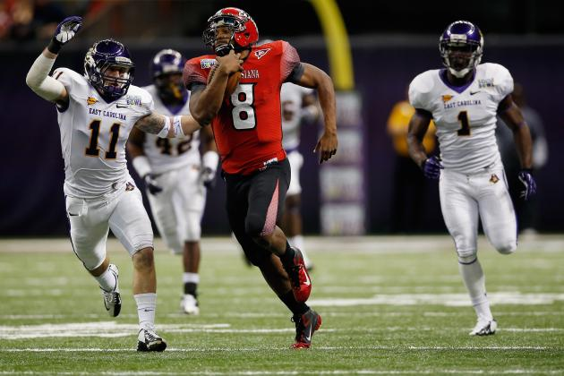 New Orleans Bowl 2012: Grading ULL and ECU's Performances