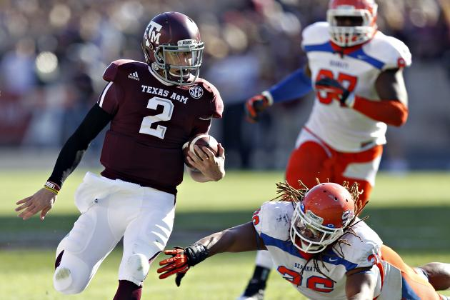 Texas A&M Football: Projecting the Aggies' 2013 Offensive Depth Chart