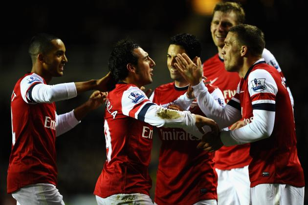 Arsenal FC: Power Ranking Gunners Players in 2012