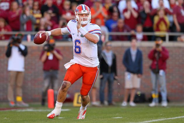 Florida Football: Projecting the Gators' 2013 Offensive Depth Chart