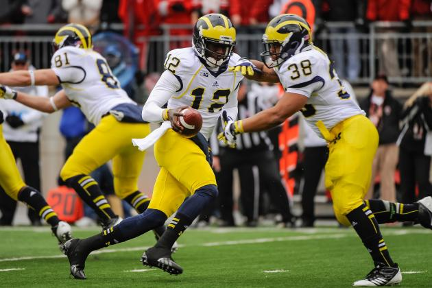 Michigan Football: Projecting Wolverines' 2013 Offensive Depth Chart