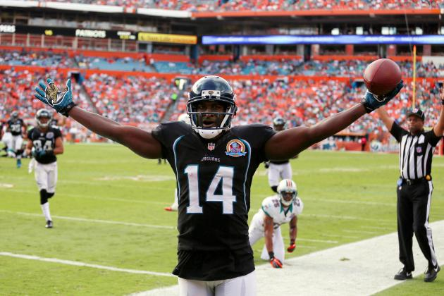Justin Blackmon and 3 Rookies Rebounding After Slow Starts to the Season