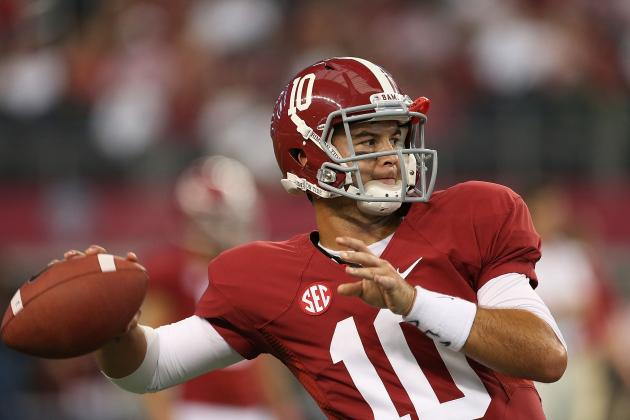 Alabama Football: Projecting the Tide's 2013 Offensive Depth Chart