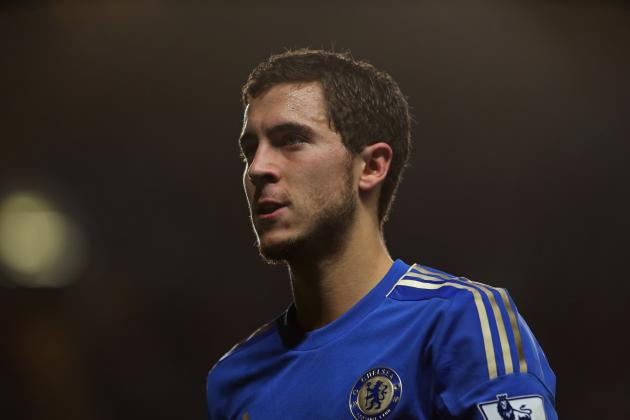 Chelsea: Eden Hazard Report Card for the 2012-13 Season so Far