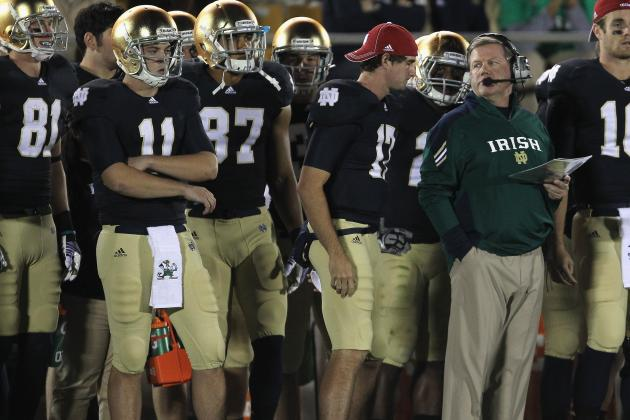 Notre Dame Football: Projecting Brian Kelly's 2013 Offensive Depth Chart