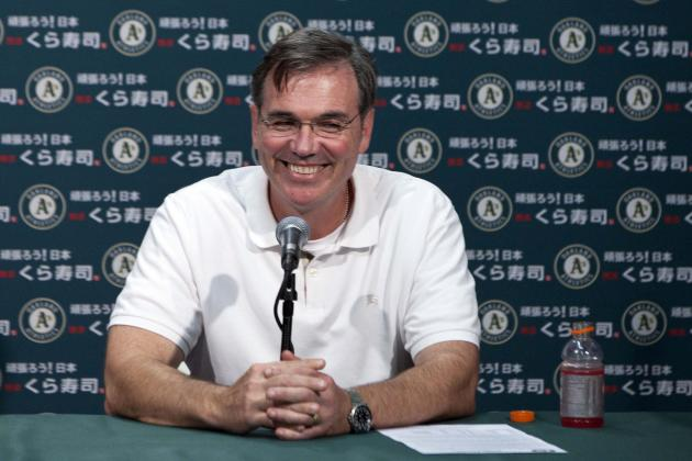 Oakland A's: 5 Gifts on Billy Beane's Christmas Wish List