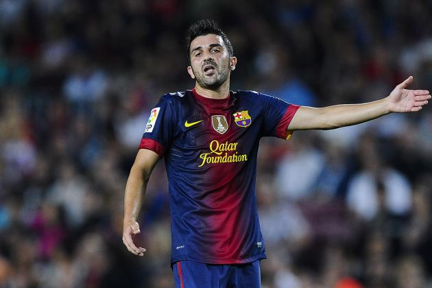 David Villa: 5 Most Likely Transfer Destinations for the Barcelona Striker