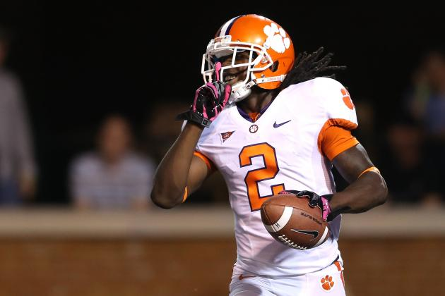Clemson Football: Projecting the Tigers' 2013 Offensive Depth Chart