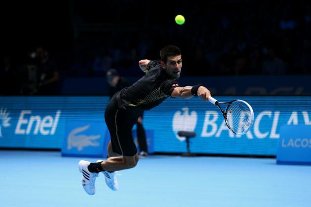 Ranking the 10 Best Tennis Players of 2012