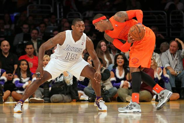New York Knicks vs. LA Lakers: Postgame Grades and Analysis