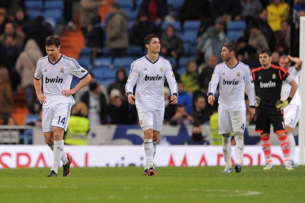 Real Madrid Report Card for 2012