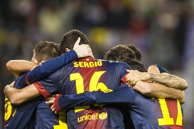 FC Barcelona Report Card for 2012