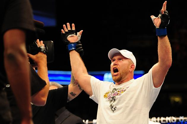 UFC 155: Tim Boetsch and 9 Fighters Who Saved Their Career by Dropping Weight