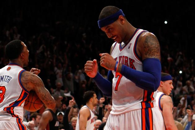 New York Knicks: Looking Back at the Top 10 Moments of 2012