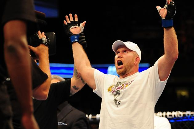 MMA: Biggest Underdog Upsets from 2012