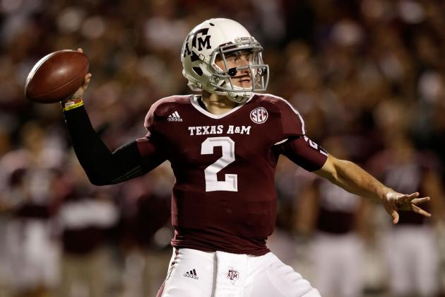 Ranking College Football's 50 Best Quarterbacks of 2012