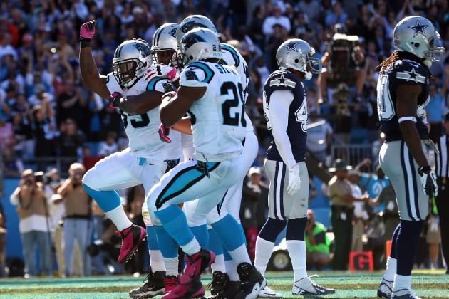 The 10 Worst NFL Touchdown Celebrations of 2012