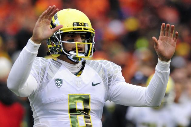 Oregon Football: 5 Reasons Marcus Mariota Is the 2013 Heisman Trophy Favorite