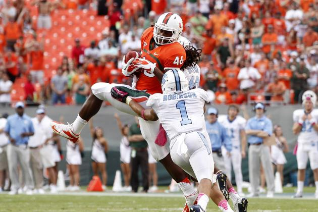 Miami Football: Projecting the Hurricanes 2013 Offensive Depth Chart