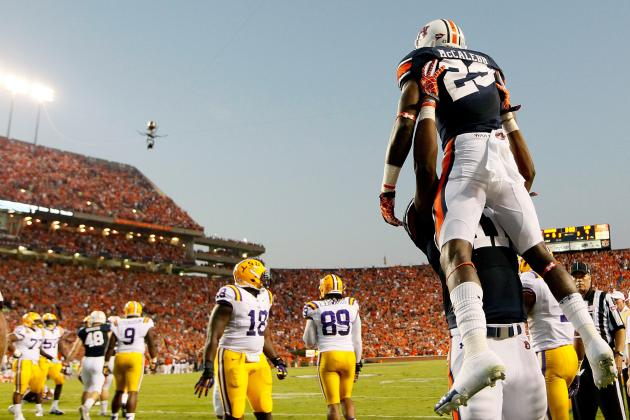 Auburn Football: Ranking the Top 10 Plays of Auburn's 2012 Season