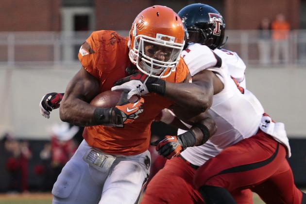 Oklahoma State Football: Predicting the Cowboys' 2013 Offensive Depth Chart