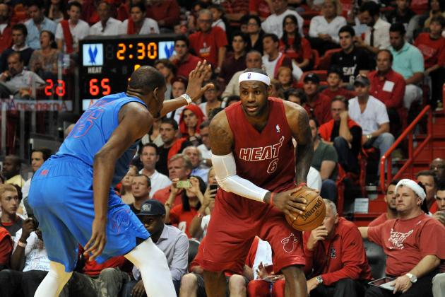 Grading the NBA's Top 10 Superstars on Their 2012 Performance