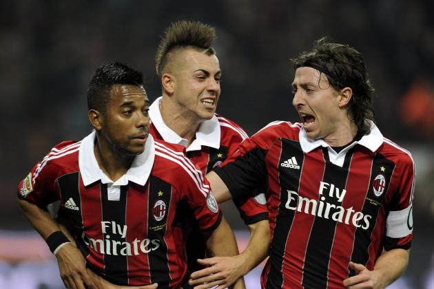 AC Milan Report Card for 2012