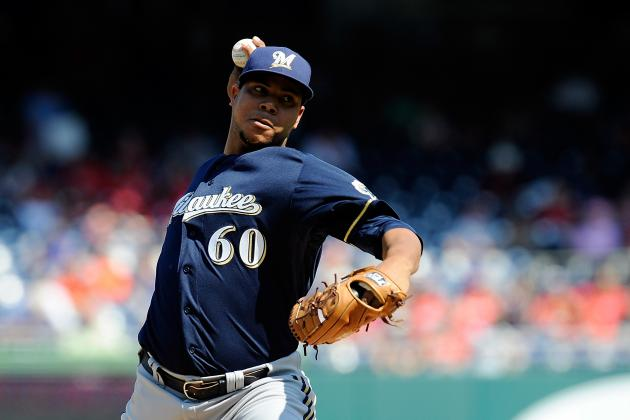 Ranking the Top 10 Prospects in the Milwaukee Brewers' Farm System