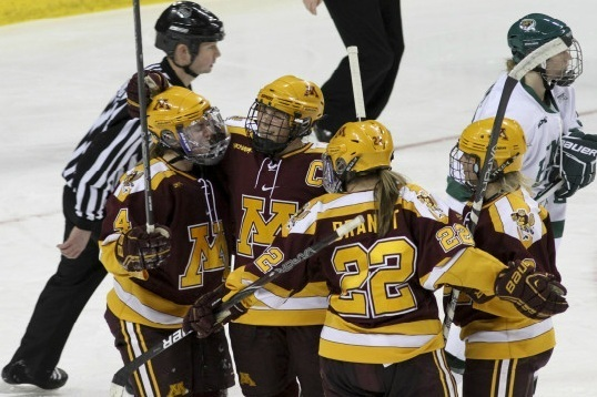 Best NCAA Women's Hockey Performances of December 2012