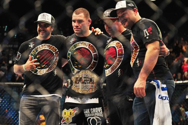 10 Things We Learned in UFC 155