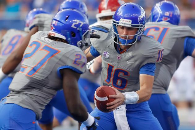 Boise State Football: Projecting the Broncos' 2013 Offensive Depth Chart