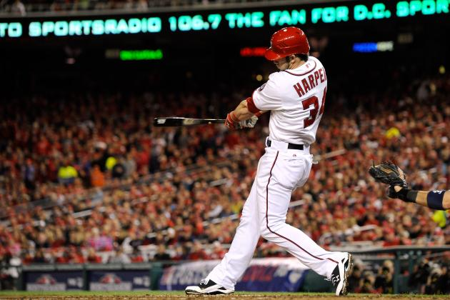 5 Reasons Bryce Harper Will Go for 30 HR, 100 RBI in 2013