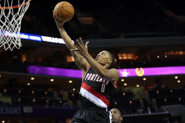 Ranking Portland Trail Blazers' Best Damian Lillard Highlights of 2012