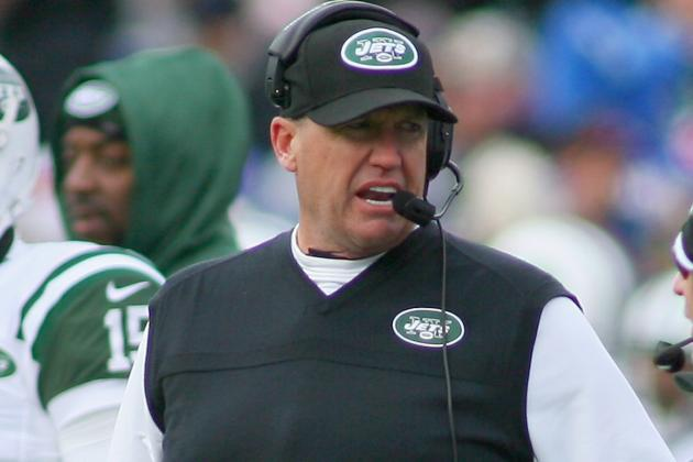 Hot Seat Rankings: Rex Ryan, Ron Rivera and More Coaches in Trouble